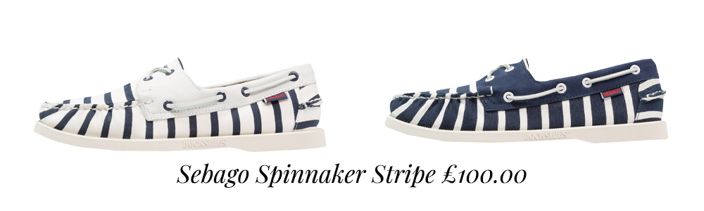 Sebago Spinnaker Stripe