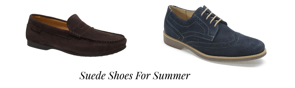 Suede Shoes For Summer