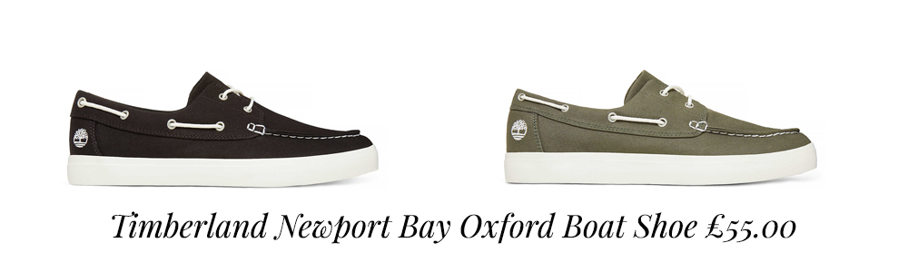 Timberland Newport Bay Oxford Boat Shoes