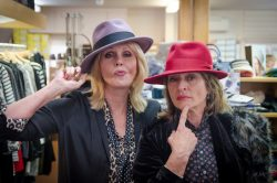 Joanna Lumley and Diana Quick