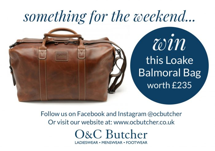 Something for the Weekend.... Win This Loake Bag