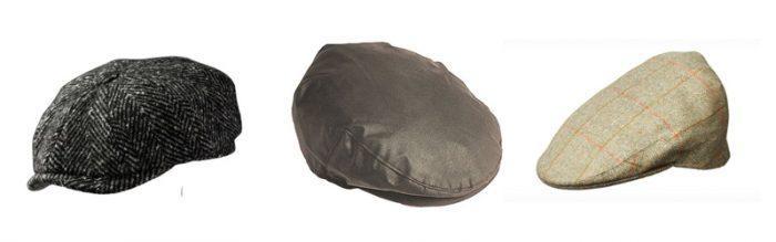 Men's flat caps