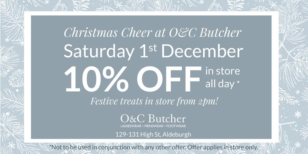 Christmas Cheer at O&C Butcher