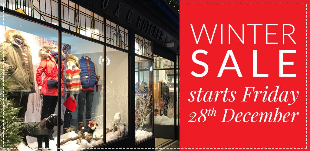 Winter Sale Starts Friday 28th December