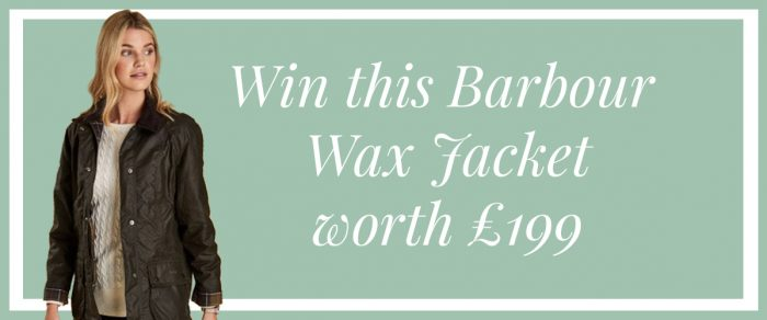 Win a womens Barbour Wax Jacket worth £199