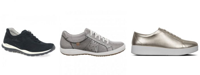 Ladies Laceups from Gabor, Josef Seibel and Fitflop