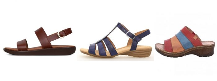 Ladies Sandals by Fitflop, Gabor and Josef Seibel