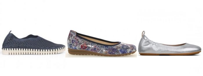 Ladies Slip Ons from Ilse Jacobsen, Gabor and Fitflop