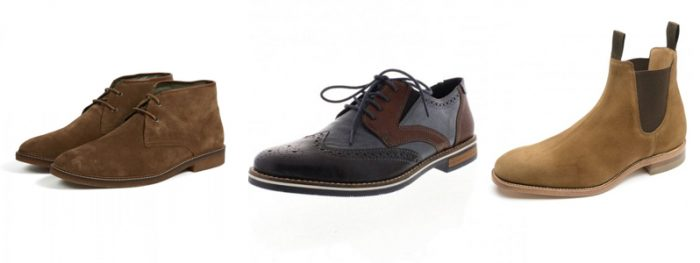 Mens Boots and Formal Shoes by Barbour, Rieker and Loake