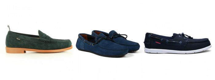 Mens Loafers and Deck Shoes by G.H. Bass, Barbour and Sebago