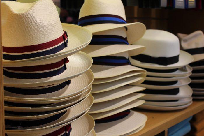 Panama hats at O&C
