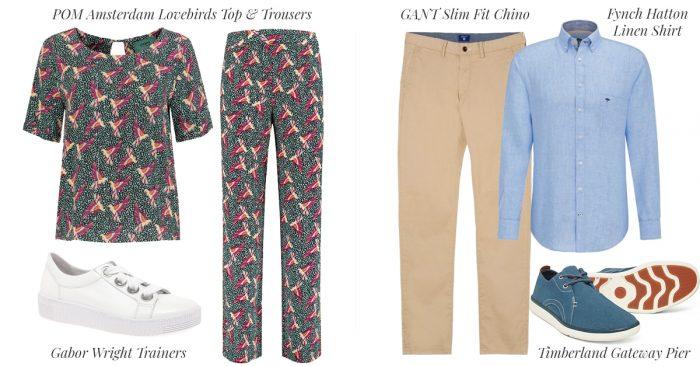 Menswear and Womenswear for Aldeburgh Date Night