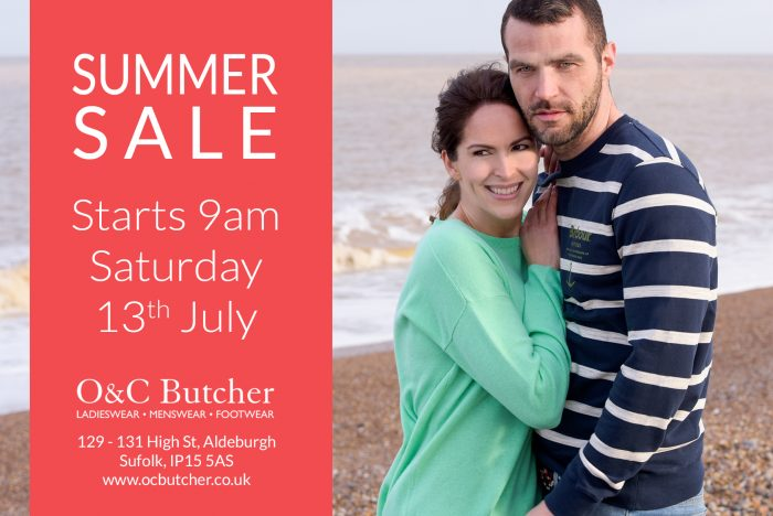 Summer Sale Starts Saturday 13th July