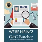 Part-Time position at O&C Butcher, Aldeburgh