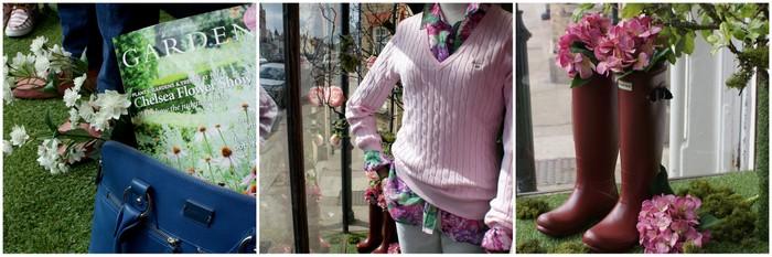 O&C Butcher floral window