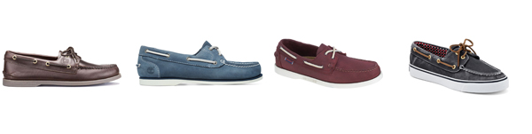 Deck Shoes by Sperry, Timberland and Sebago