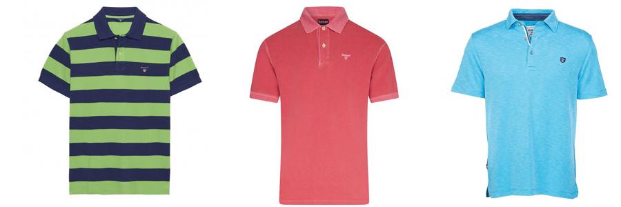 Colourful Polo Shirts
