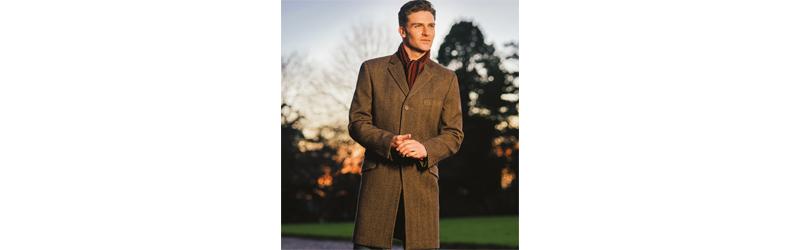 Douglas Tweed Overcoat