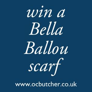 Win a Bella Ballou Scarf