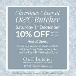 Christmas Cheer at O&C Butcher