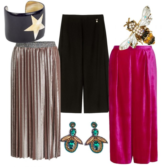 Culottes by Emily & Finn and Pennyblack, Oui Skirt, Accessories by My Doris and Rosie Fox