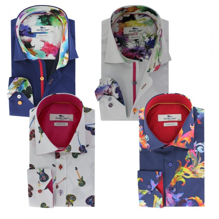 Four shirts by Claudio Lugli