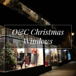 O&C Christmas Windows