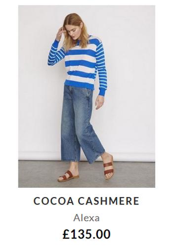 Cocoa Cashmere Alexa £135.00