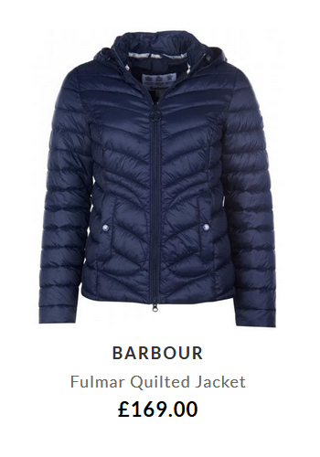 Barbour Fulmar Quilted Jacket £169.00