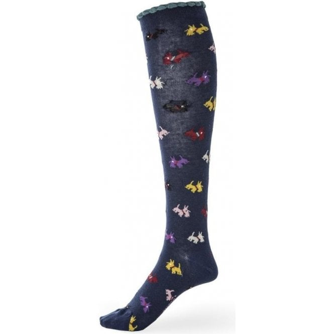 Avoca Scottie Knee Sock