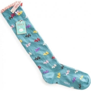 Scottie Knee Sock