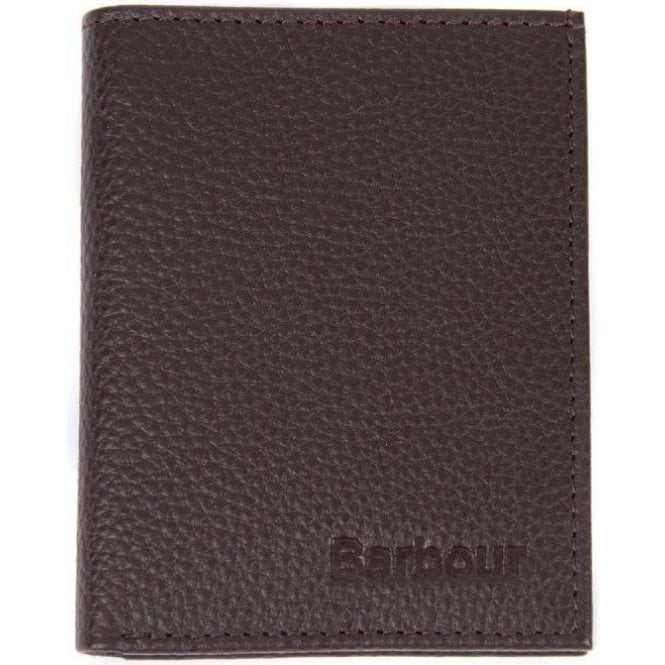 Barbour Amble Grain Leather Small Bifold Wallet