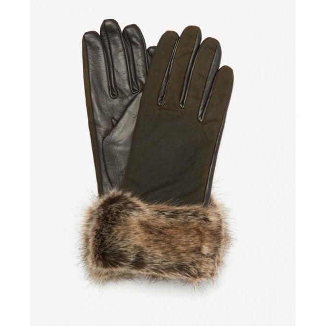 Barbour Ambush Wax Leather Gloves