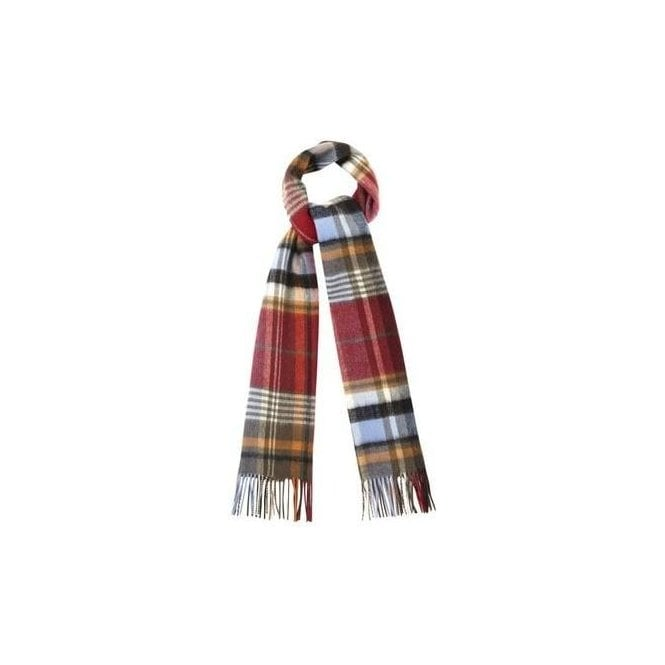 Barbour Bright Country Plaid Scarf