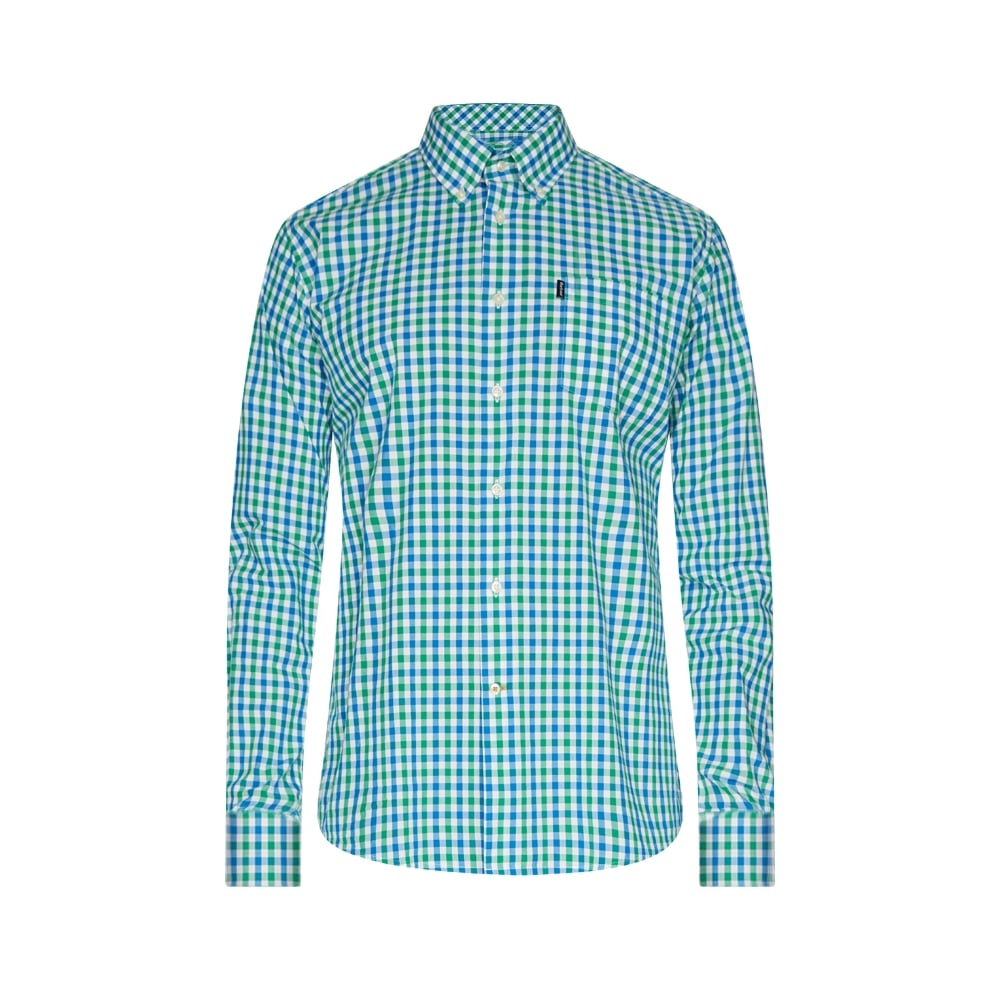 Bruce long sleeve shirt barbour men 39 s shirts o c butcher for Lightweight breathable long sleeve shirts