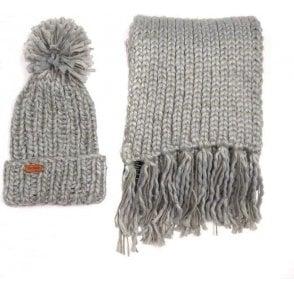 Chunky Knit Hat & Scarf Set