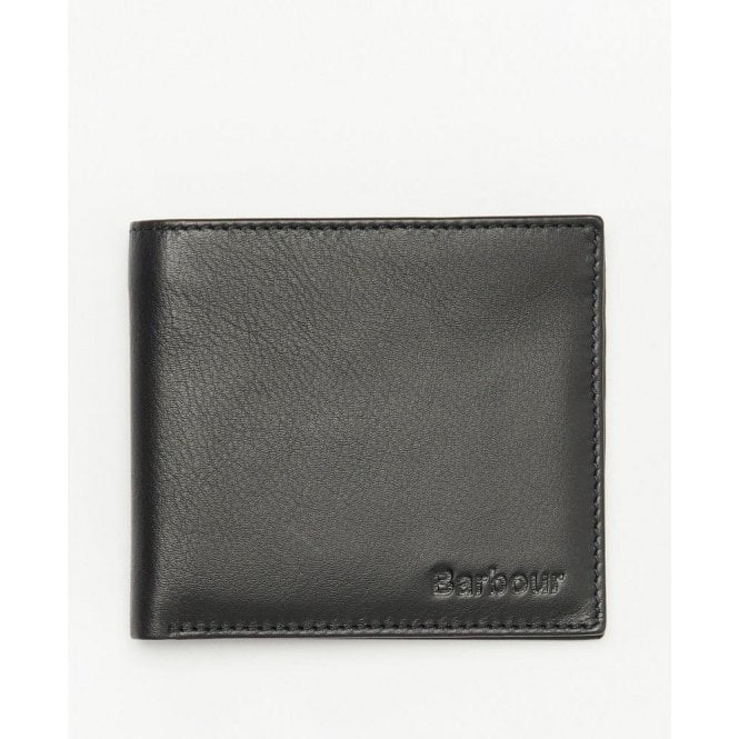 Barbour Colwell Leather Billfold Wallet