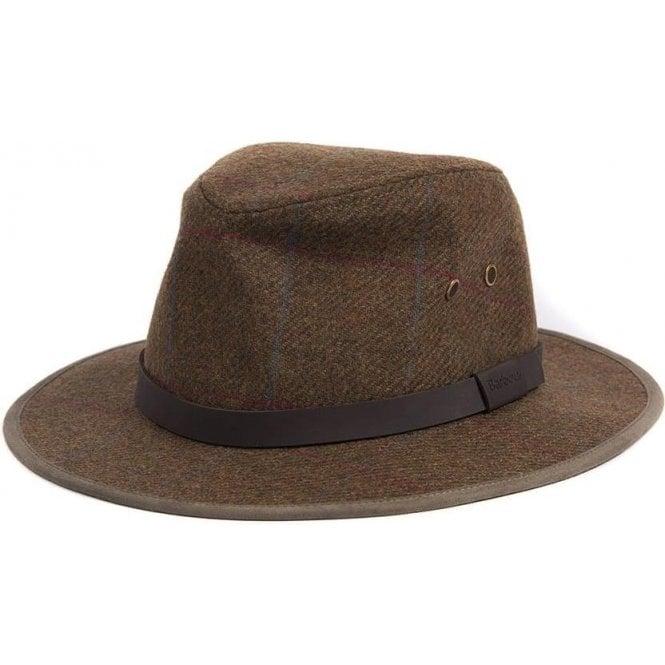 Barbour Country Tweed Bushman Hat