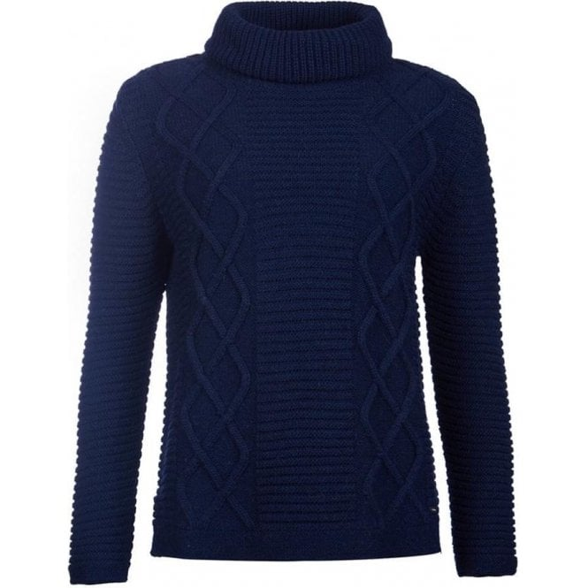 Barbour Court Roll Collar Sweater