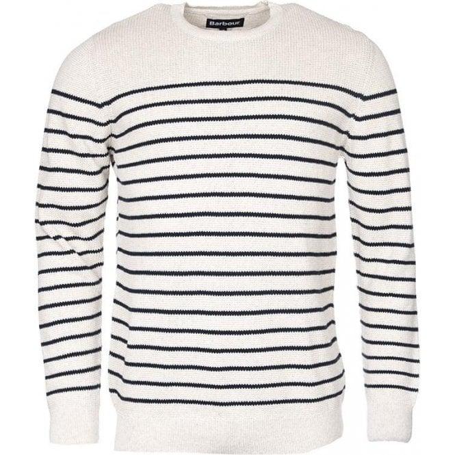 Barbour Current Stripe Crew Sweater