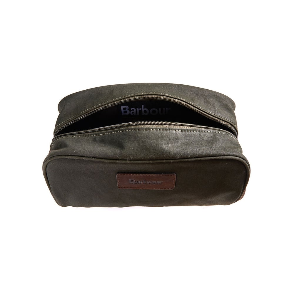 3de33bf7f7 Barbour Barbour Drywax Washbag - Mens Bags  O C Butcher