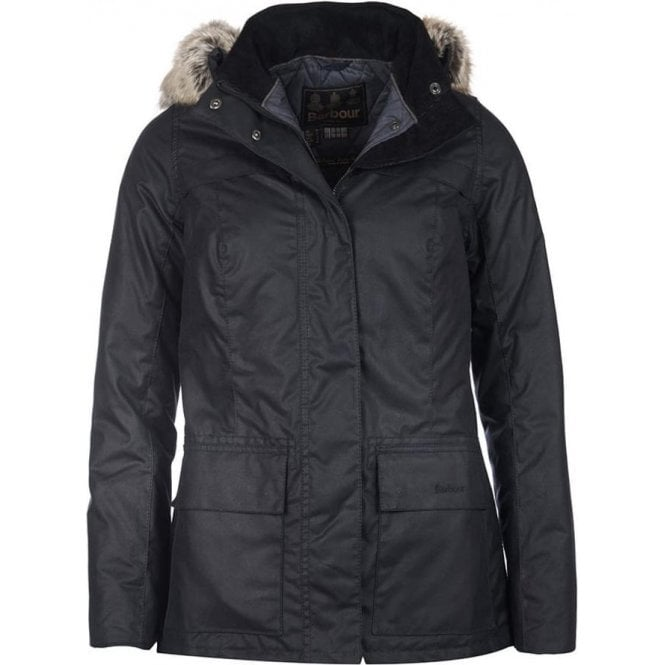 Barbour Ellen Wax Parka Jacket