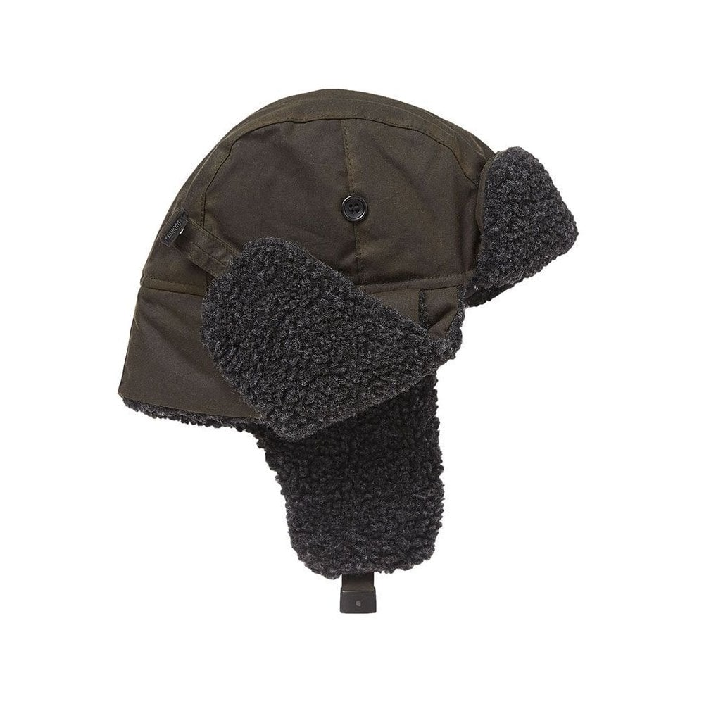 99ca57731 Barbour Fleece Lined Trapper Hat