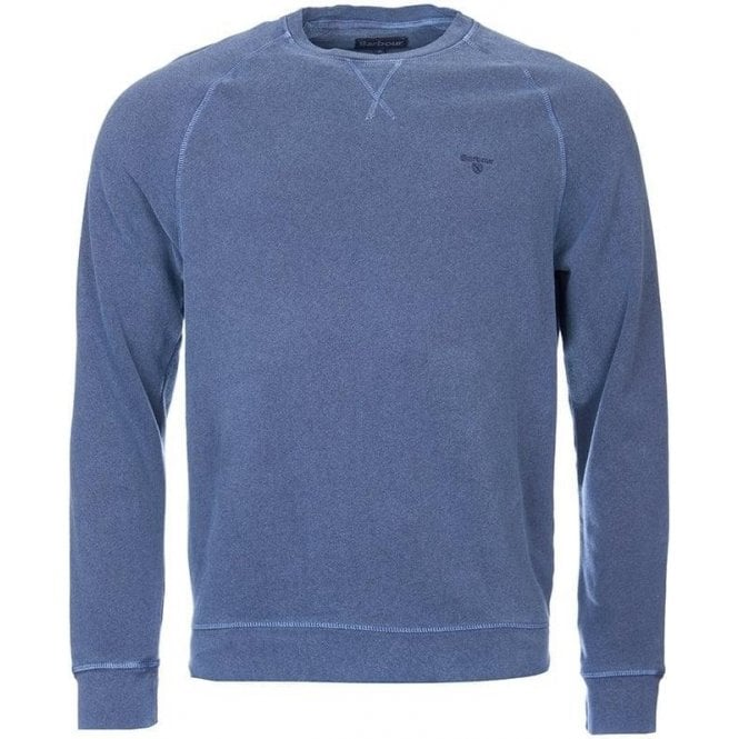 Barbour Garment Dyed Crew Neck Sweater