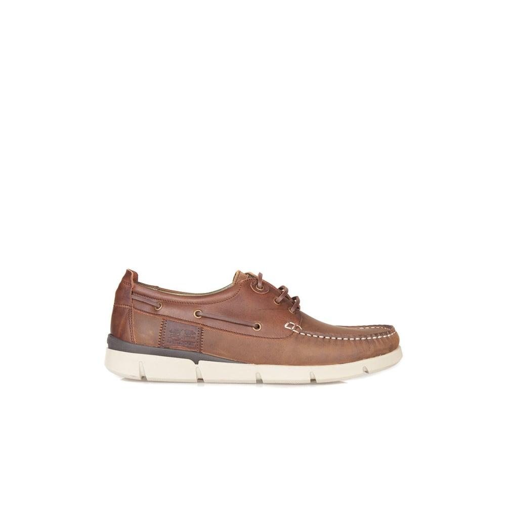 Barbour George Boat Shoes - Mens Deck