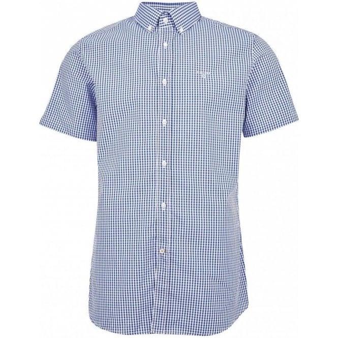 Barbour Gingham 27 Short Sleeved Tailored Shirt