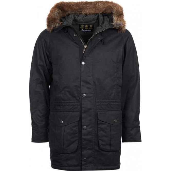 Barbour Gisburne Parka Wax Jacket