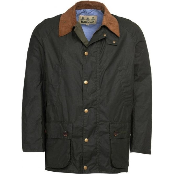 Barbour Hopsack Waxed Cotton Jacket