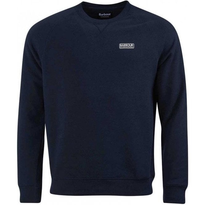 Barbour International Essential Crew Neck Sweater