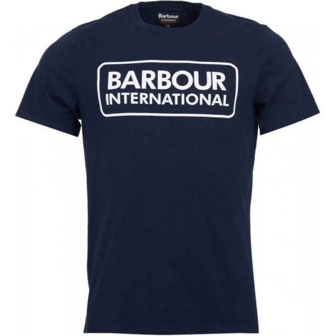 Barbour International Essential Large Logo Tee